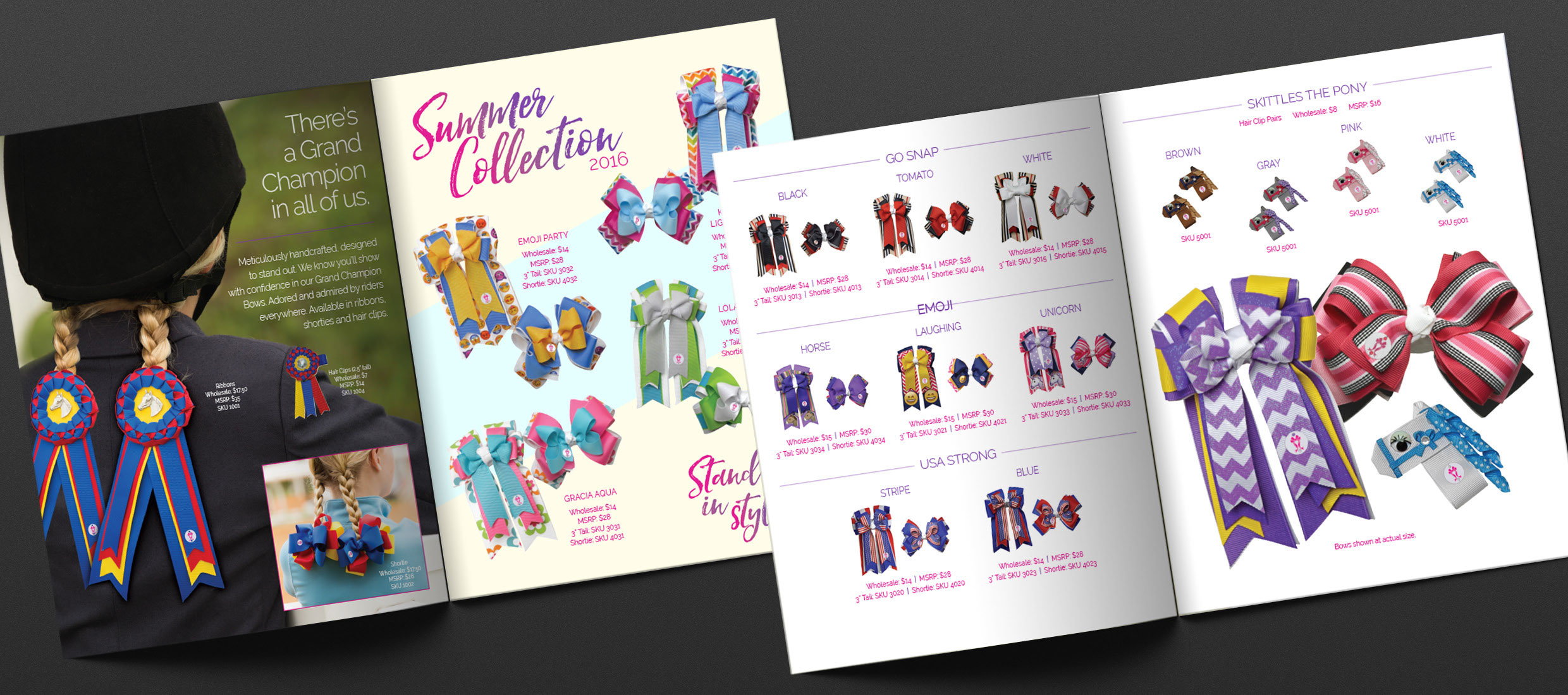 Retail Catalog Spread
