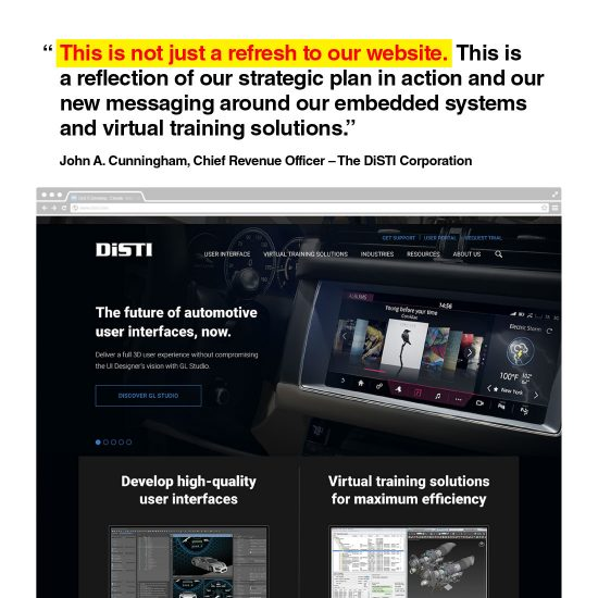 DiSTI Website Redesign